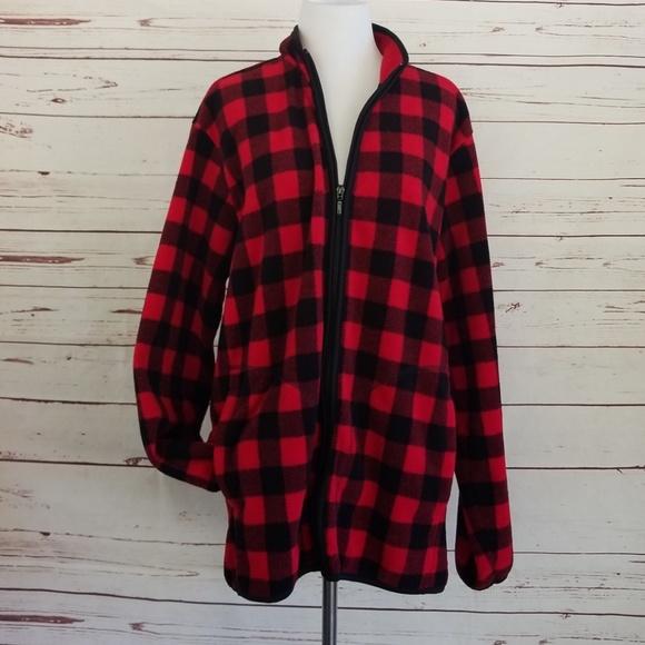 9888be648b36 Uniqlo buffalo check fleece jacket XL. M 5be4b72f035cf1fd4c2aa64e